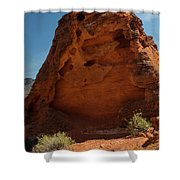 Monolith Sculpture Valley Of Fire Shower Curtain
