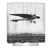 Monoplane, 1910 Shower Curtain