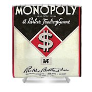 Monopoly Shower Curtain