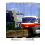 Monorail Shower Curtain
