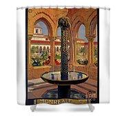 Monreale Palermo 1925 Travel Shower Curtain