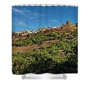 Monsaraz Medieval Town, Portugal Shower Curtain