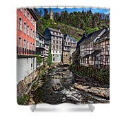 Monschau Village View Shower Curtain