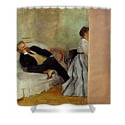 Monsieur And Madame Edouard Manet Shower Curtain