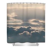 Monsoon Clouds Shower Curtain