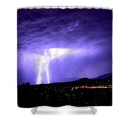 Monsoon Over Sedona Shower Curtain