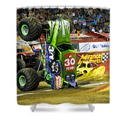 Monster Jam 2 Shower Curtain