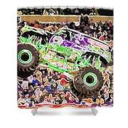 Monster Jam Orlando Fl Shower Curtain