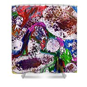 Monster Party Shower Curtain