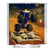 Monster Truck 1a Shower Curtain