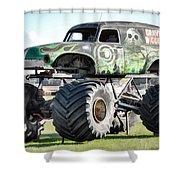 Monster Truck 4 Shower Curtain