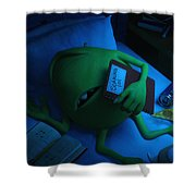 Monsters Univeristy Shower Curtain