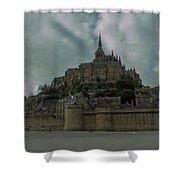 Mont Saint Michel 1 Shower Curtain