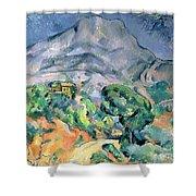 Mont Sainte Victoire Shower Curtain