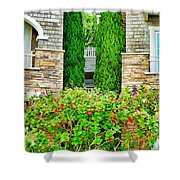Montage Alley Shower Curtain