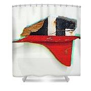 Montage Shower Curtain
