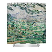 Montagne Sainte Victoire Shower Curtain