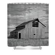Montana Barn Memories Shower Curtain