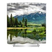 Montana Beauty Shower Curtain