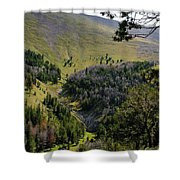 Montana Call Of The Wild Shower Curtain