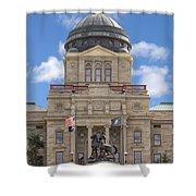 Montana Capitol Building Shower Curtain