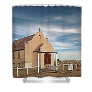 Montana Church Shower Curtain