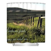 Montana Dream Shower Curtain
