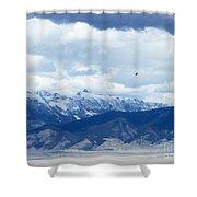 Montana Flight Shower Curtain