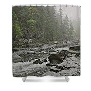 Montana Fog Shower Curtain