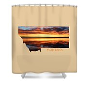 Montana Glory Shower Curtain