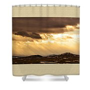 Montana Gold Shower Curtain