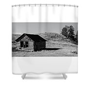 Montana Homestead Shower Curtain