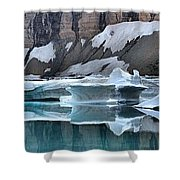 Montana Icebergs Shower Curtain