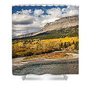 Montana Landscape In Fall Shower Curtain