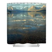Montana Lonely Boat Shower Curtain