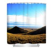 Montana  Shower Curtain