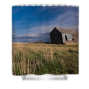Montana Prairie Homestead Shower Curtain