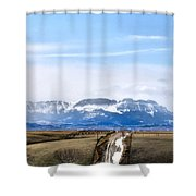 Montana Scenery One Shower Curtain