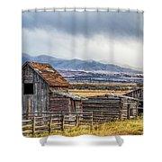 Montana Scenery Shower Curtain