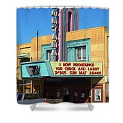 Miles City Montana - Theater Shower Curtain