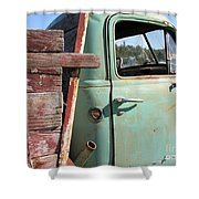 Montana Truck Shower Curtain
