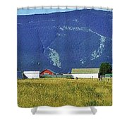 Montana Whispers Shower Curtain