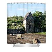 Montauk Guard House 1 Shower Curtain