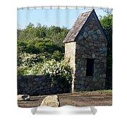 Montauk Guard House 2 Shower Curtain