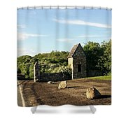 Montauk Guard House Shower Curtain
