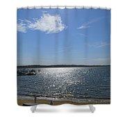 Montauk Seascape Shower Curtain