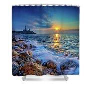 Montauk Sunrise Shower Curtain