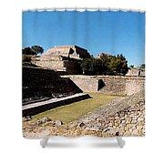 Monte Alban Ball Court Shower Curtain