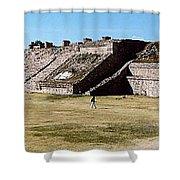 Monte Alban Panorama Shower Curtain