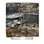 Monte Carlo 10 Shower Curtain